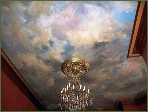 1000 images about sky on my ceiling on pinterest for Cloud mural ceiling